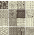 Various textures vector image vector image