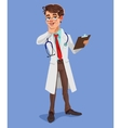 3d doctor vector image