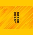 abstract geometric yellow and orange diagonal vector image vector image