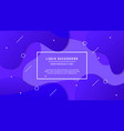 fluid style background 3 vector image