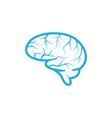 health brain vector image vector image