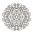 mandala pattern zentangl doodle drawing round vector image