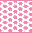 piggy bank pattern background vector image