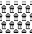 seamless of ramadan lantern vector image