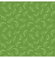 Seamless pattern with light green leaves vector image vector image