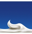 White abstract liquid background