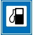 Fuel pump gas station icon