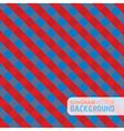 gingham red and blue vector image vector image