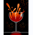 goblets vector image vector image
