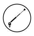 Radio antenna component icon vector image vector image
