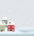 seasonal background vector image vector image