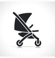 stroller icon symbol design vector image