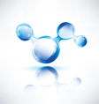 abstract water shape vector image