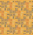 boston pattern seamless design vector image
