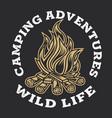 camping firewood vintage adventure outdoor logo 8