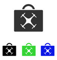 drone toolbox flat icon