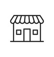 e-commerce and shopping web icons in line style vector image vector image
