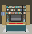 Modern Style Living Room vector image