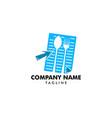 online recipes logo design element food logo vector image vector image