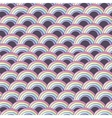 pattern with rainbow vector image vector image