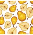 pear half seamless vector image vector image
