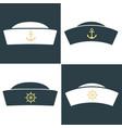sailor hat icon vector image