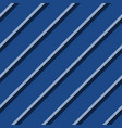 blue striped background diagonal fabric texture vector image vector image