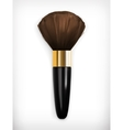 Brush for make up vector image