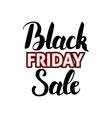 Black Friday Sale Handwritten Calligraphy vector image vector image