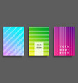 colorful gradient cover for flyer poster vector image vector image