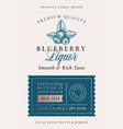family recipe blackberry liquor acohol label vector image vector image