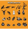 halloween 2 vector image vector image