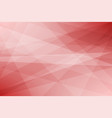 red geometric abstract background vector image