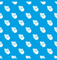 currant pattern seamless blue vector image