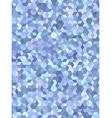 Light blue 3d cube mosaic background design vector image vector image