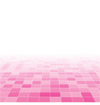 pink random background from squares mosaic tiles vector image