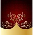 Red Label Template vector image vector image
