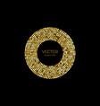 shine gold luxury background vector image vector image