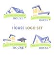 House Set Logo vector image