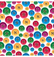 childrens buttons vector image