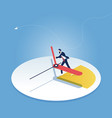 deadline and time management concept vector image