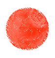fabric texture imitation watercolors on a vector image vector image