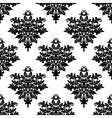 Floral seamless pattern with decorative elements vector image vector image