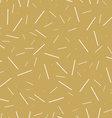 Golden Seamless Pattern vector image vector image