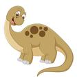 Long neck dinosaur vector image vector image