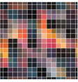 seamless abstract mosaic background vector image vector image