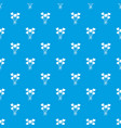 balloon pattern seamless blue vector image
