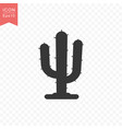 cactus plant icon simple flat style vector image vector image