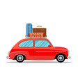 car for traveling vector image