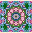 circular abstract mandalas pattern round ornament vector image
